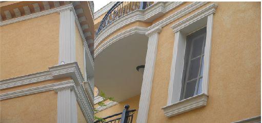 Фасадни профили - Фасадни профили, Фасадни елементи, Корнизи, Колони, Капители, Декорации от стиропор , Спа центрове, EPS