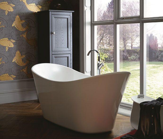 Slipper Bath Uk 22 best utopia loves bathtubs images on pinterest bathtub penhallam freestanding double ended acrylic slipper bath from heritage around 1950 heritagebathrooms sisterspd