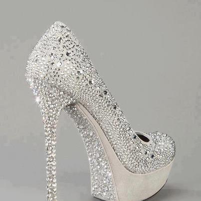 cinderella bridal heels