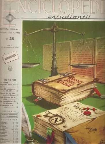Enciclopedia Estudiantil Editorial Codex Nº35 - $ 19,99