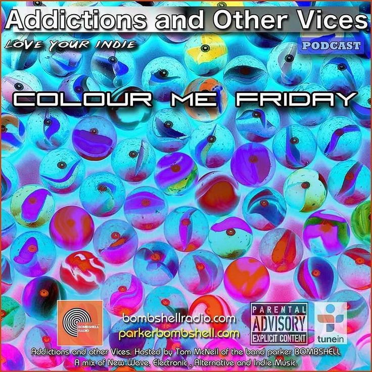 #today Addictions 332 #radio #listen #mixcloud #tuneinradio #radioshow #alternative #indierock #dj #indiepop #colourmefriday #addictionspodcast #nowplaying #newmusic If you're a musician label or PR company and you want to submit tracks to this show go to  bombshellradio.com. We have a direct link on our contact page  we're looking for one or two MP3s a small bio about yourself and a few links to your social media pages. Please listen to the show first to see if you're a good fit. No Demos…