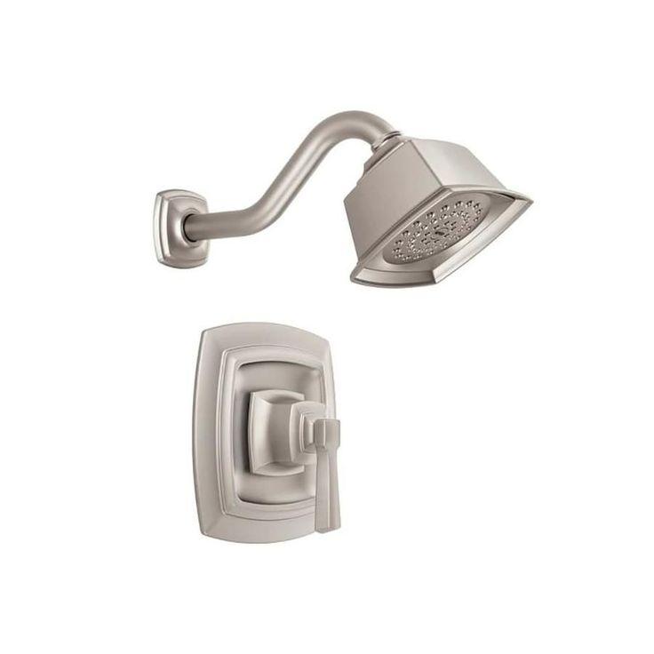 Moen Boardwalk Brushed Nickel 1-Handle Shower Faucet ...