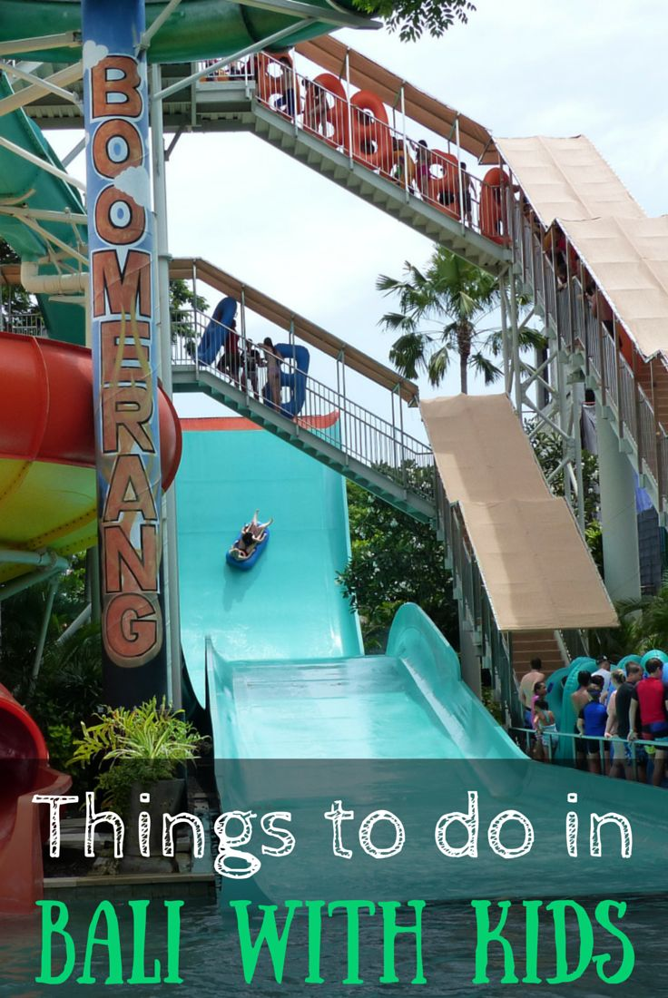 The COMPLETE list of things to do in Bali with kids! http://www.wheressharon.com/asia-with-kids/bali-with-kids-guide-bali-family-holidays/