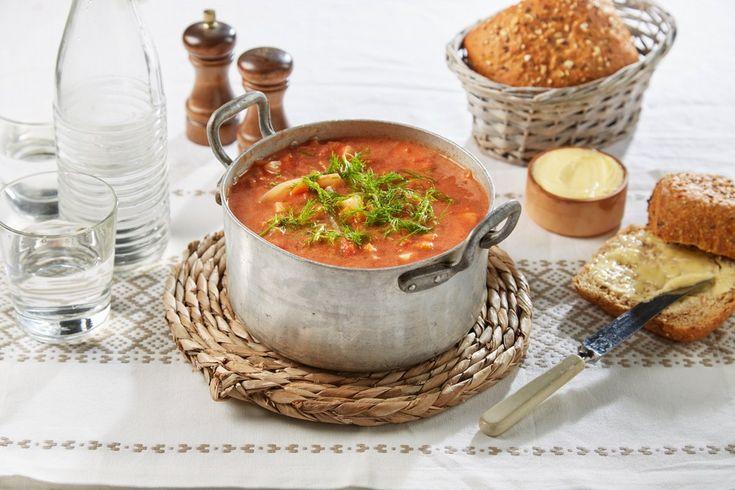 Fennikel har mange gode egenskaper, særlig god smak. Denne næringsrike suppen passer både som forrett og hovedrett.