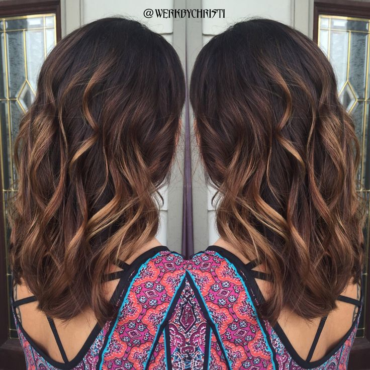 Caramel Balayage Ombre Dark Hair Color Hairstyles Dark Ombre Caramel Hair