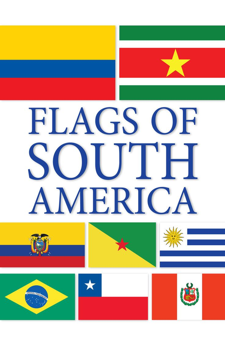 Best Ideas About World Flags With Names On Pinterest Country - South america map and flags