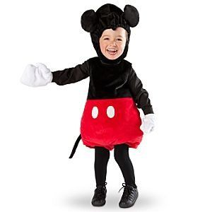 Disney Store Mickey Mouse Halloween Costume for Infants and Toddlers