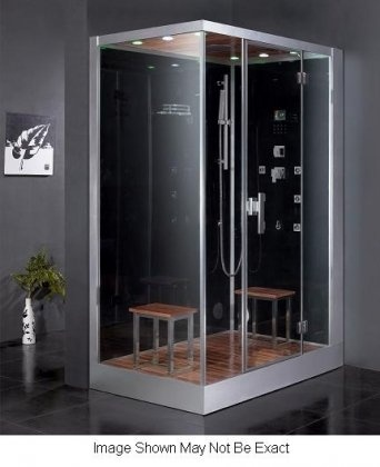 "$3490 (CLICK IMAGE TWICE FOR UPDATED PRICING AND INFO) Ariel DZ961F8-R Platinum Steam Shower & Sauna - 59 x 35.4"" Rectangular - 2 Person - Right Side Opening - See More Steam Saunas at http://www.zbuys.com/level.php?node=5661=steam-saunas"