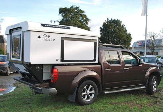 Cap Lander pop up truck camper - Expedition Portal