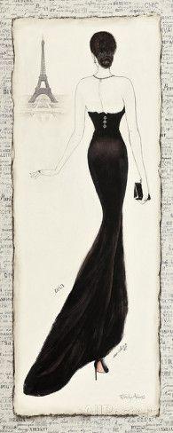 Elegance Diva I Prints by Emily Adams at AllPosters.com