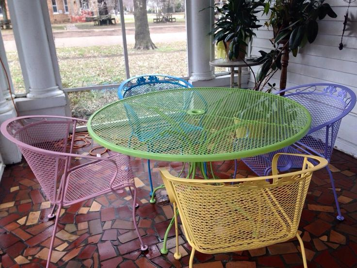 1000 ideas about Painting Patio Furniture on Pinterest