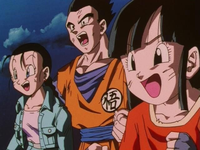 146 best images about gohan and videl on pinterest chibi - Gohan dragonball gt ...