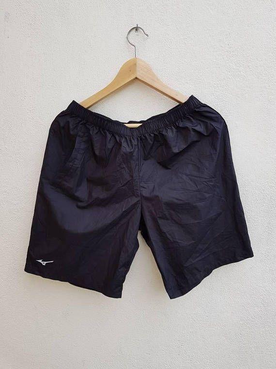 Vintage 90s Mizuno Lightweight Super Thin Sports Shorts Small