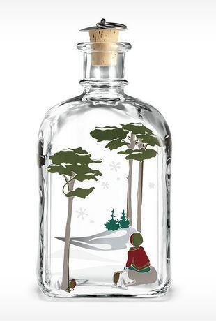 Flaske for Julesnaps 2014, 65 cl fra Royaldesign. Om denne nettbutikken: http://nettbutikknytt.no/royaldesign/