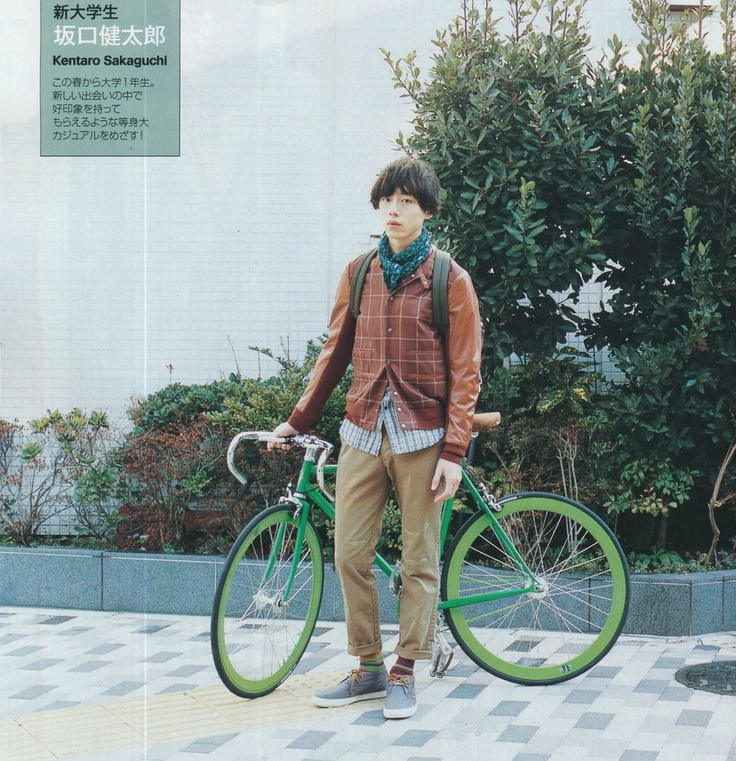 sakaguchi kentaro Charlie and the bike <3 <3 <3