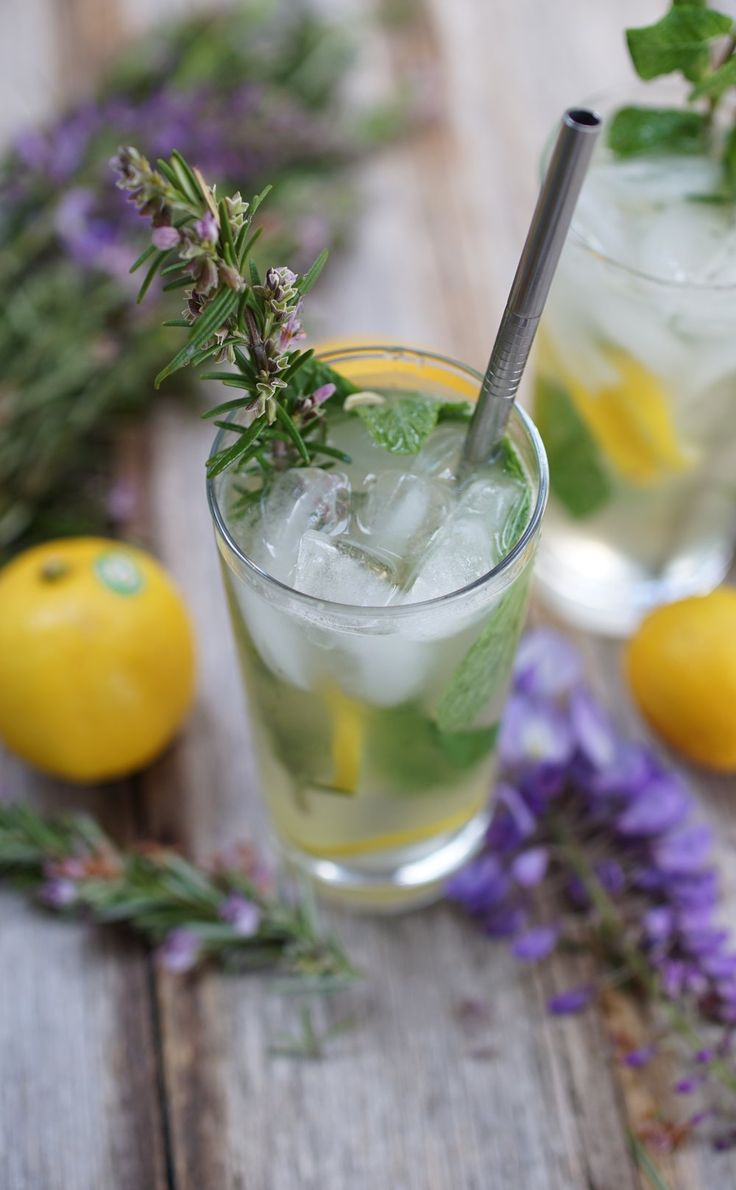 Rosemary, Cardamom and Ginger Lemonade