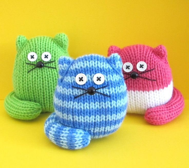 Cat Design Knitting Pattern : 25+ best ideas about Easy Knitting Projects on Pinterest Easy knitting, Eas...