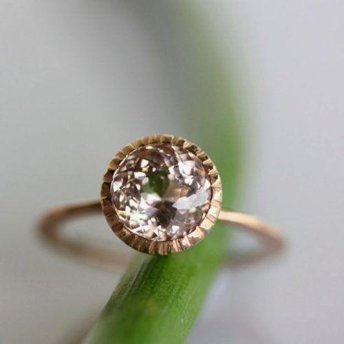 Non Diamond Engagement Ring Elegant Best Non Diamond Engagement Rings Ideas On Pinterest
