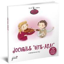 """""""Jocurile """"Uite-aşa!"""" - Lucia Muntean; Varsta: 2-4 ani; Colecție de poezii care dezvoltă capacitatea de comunicare a celor mici. Organizate sub formă de activităţi antrenante, versurile din această carte îi învaţă pe copii să descrie lumea din jur nu numai în cuvinte ci și prin gesturi. Părinţii care au cumpărat-o ne-au spus că """"Jocurile """"Uite-așa!"""" reprezintă acum unul dintre cele mai îndrăgite şi aşteptate momente ale programului zilnic al întregii familii."""