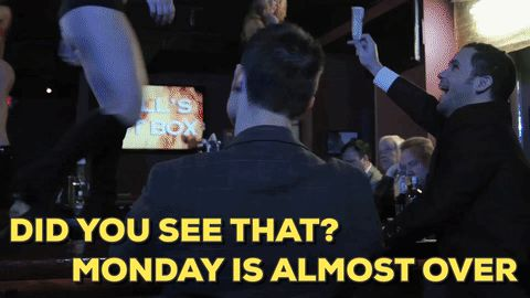 We're almost there people. Monday is almost coming to a close. #funday #funny #TheJerseyDevil #SMGMovies #movies #clips #gifs #humor