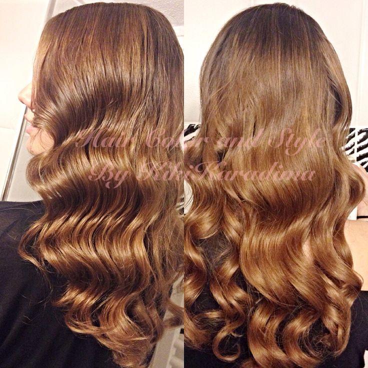 Long hair  Wave hairstyle /Vang  Hairporn/ hairday