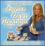 "HOW TO GIVE AN ANGEL CARD READING KIT Communicate with the Angelic Realm! This kit comes with the ""Archangel Oracle Cards"", a guidebook & an instructional DVD which shows you step-by-step how to use your cards. The topics featured on the DVD include: how to clear and consecrate your cards, how to quickly and easily interpret the cards' meanings, different card spreads, how to give readings for yourself and others, how to invoke the angels & much, much more.    £15.99…"
