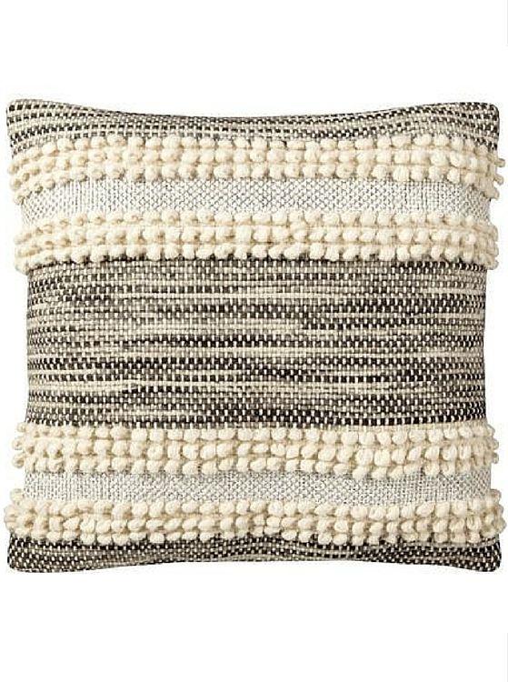 #MyNateBerkus: Metallic Textured Pillow sold at Target