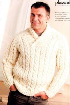 Мужские белые свитера фото