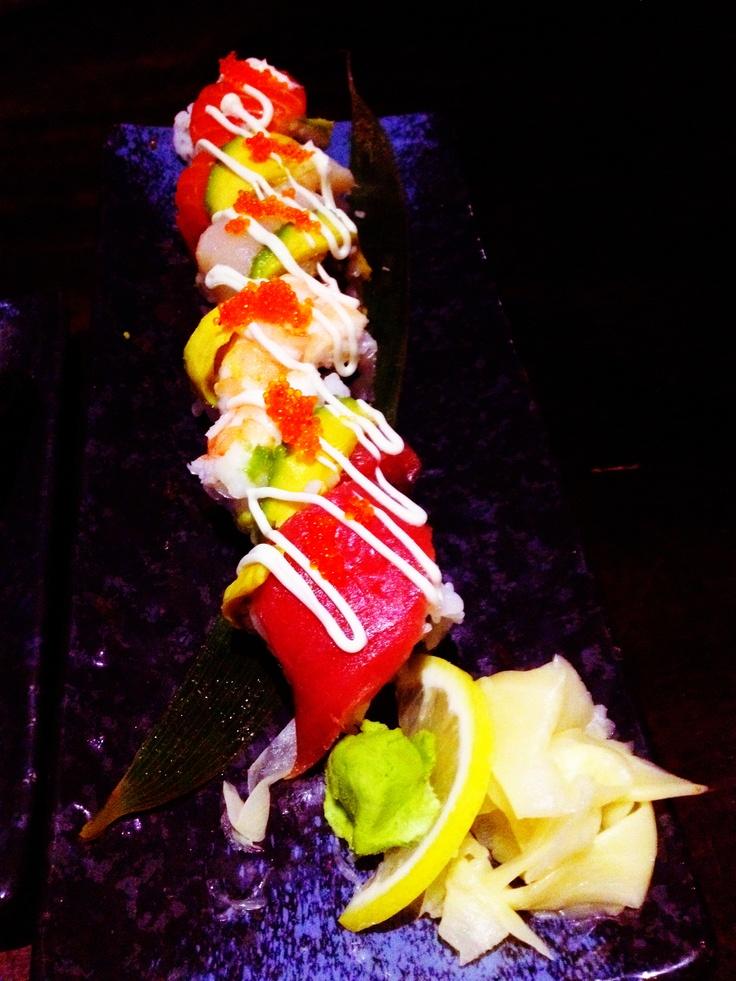 Rainbow Roll @ Wagaya