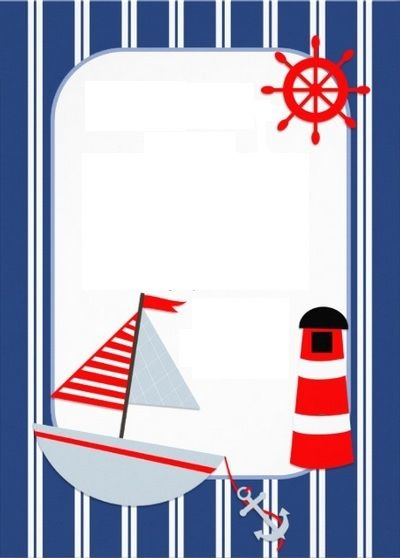 Nautical Party Invitation                                                                                                                                                                                 Más