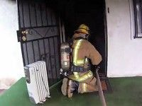 Helmet Camera Captures the Most Incredible Fire Rescue - Most Heroic Video of the Year