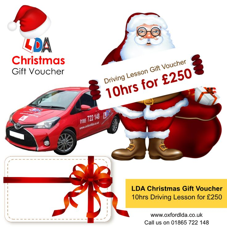 What can be a better surprise for your friends, family members or loved ones than a Driving gift card from Local Driving Academy (LDA), Oxford this Christmas? All you have to do is call 01865722148, make the payment and print this voucher and pass it to your loved one! Merry Christmas and safe driving!   Note: (T&Cs applies)   #ChristmasGift #ChristmasOffer #GiftVoucher #DrivingGiftCard #Oxford #DrivingSchool #MerryChristmas