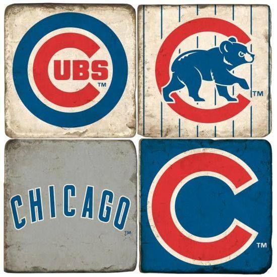 Chicago Cubs - four different symbols