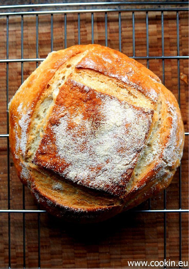 Pane Pugliese - italienisches Hartweizen Brot mit kalter Fhrung | Pane Pugliese…