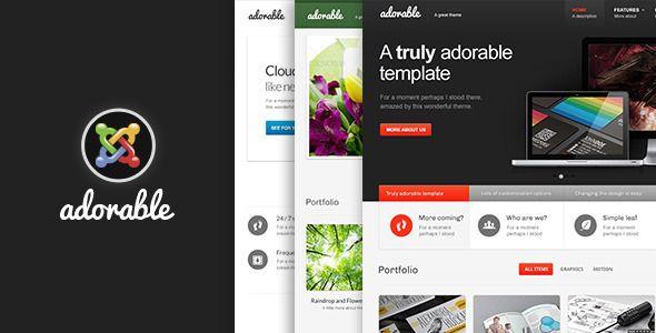 Adorable- Multipurpose Joomla Template - Corporate Joomla