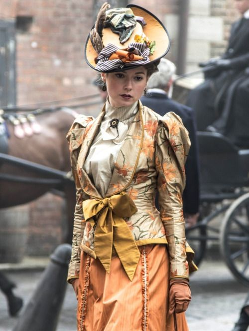 Lydia Wilson as Mimi Morton in Ripper Street (TV Series, 2014). [x]