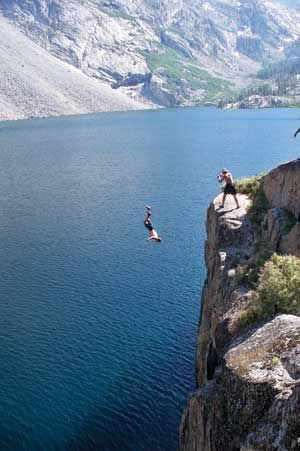 jump off a canyon and let go of all my worries!