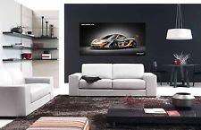 McLAREN P1 GTR EXOTIC SUPER SPORTS CAR LARGE AUTOMOTIVE POSTER 24x48 in