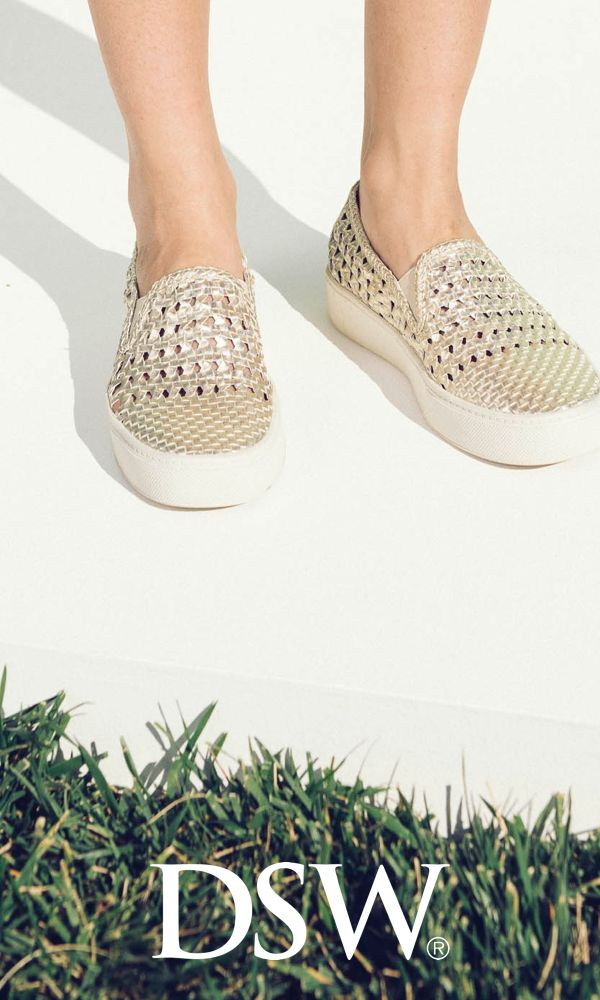 Trend alert! Step into Spring with the hottest new trends including slingbacks, woven details and pops of white at dsw.com