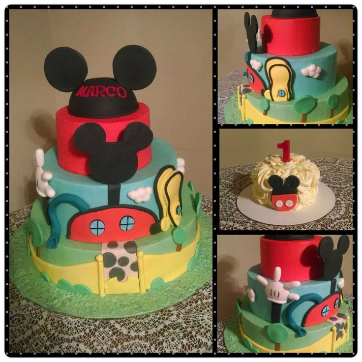 Mickey Mouse Smash Cakes Buttercream: 65 Best Images About My Cakes! On Pinterest