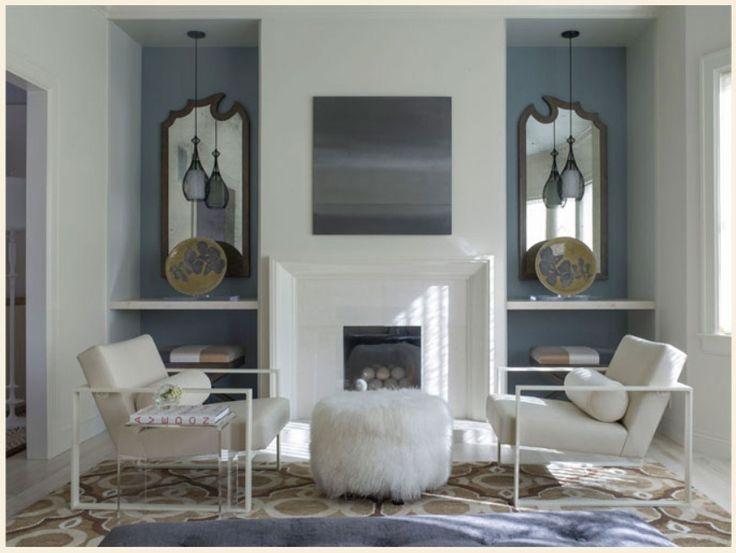 Angela Freeman Interior Design, featuring BRADLEY 'Katie' Mirrors