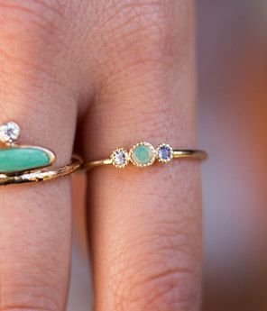 pin ring rose audry jewelry rings page jewelled pinterest