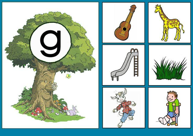 Letterkaart G