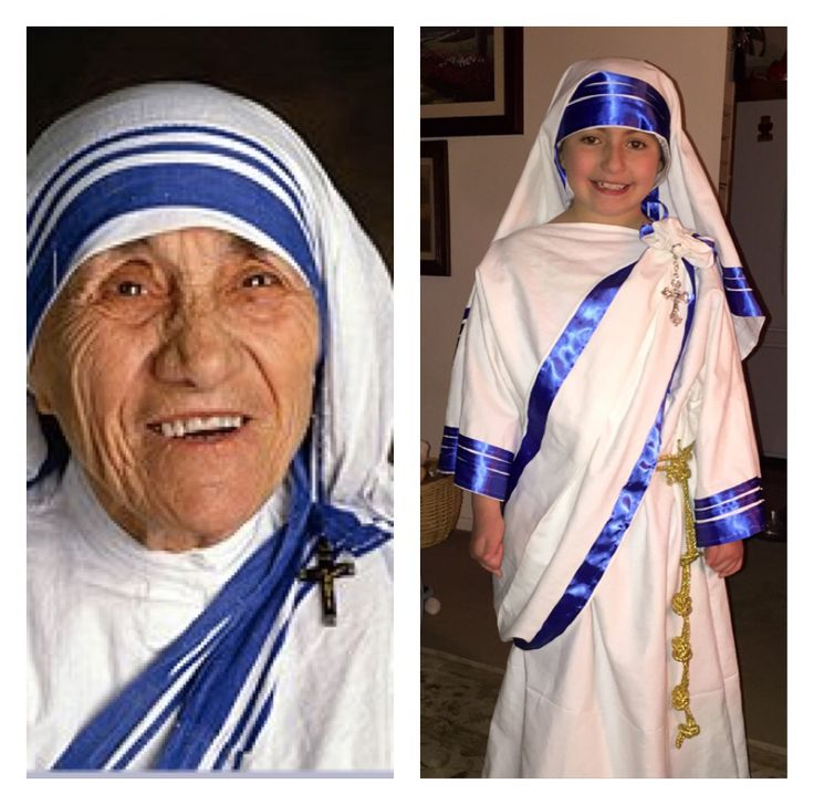 Mother Teresa Living Wax Museum Costume My Attempt At