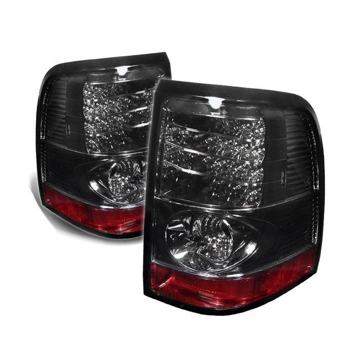 ( Spyder ) Ford Explorer 4Dr (Except Sport Trac) 02-05 LED Tail Lights - Smoke
