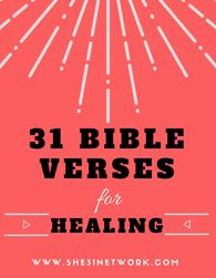 31 Bible Verses and scriptures on healing and health