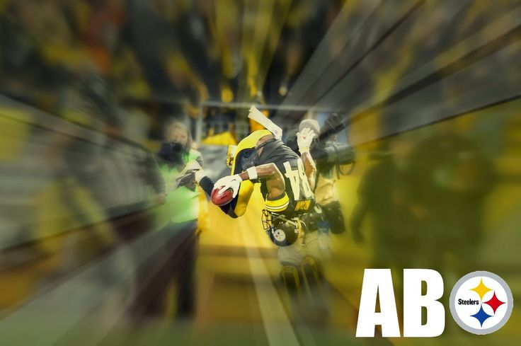 antonio brown scores on a punt return for a touchdown agains the bengals at heinz field on december 28, 2014, from the unlikely orange