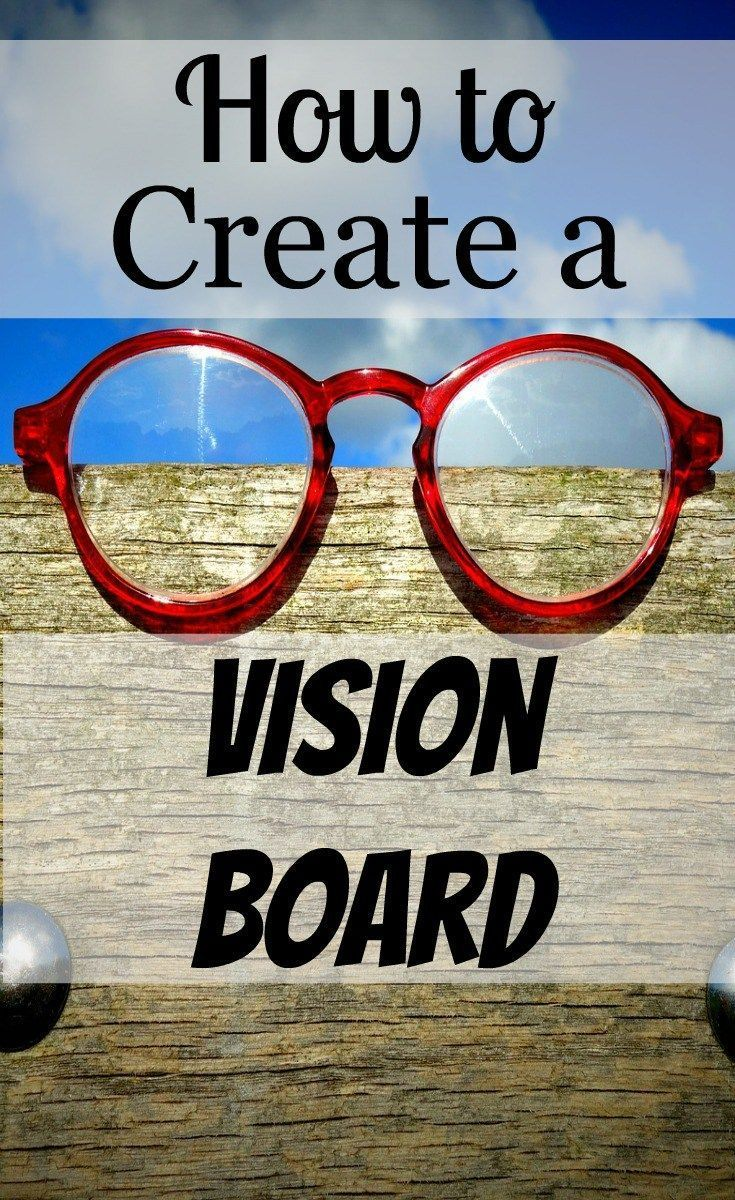 I love having a visual reminder of my Goals. If you wonder how to create a vision board, this post will give you the steps to make your own!