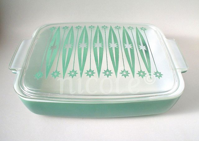 cutest starburst casserole dish ever!