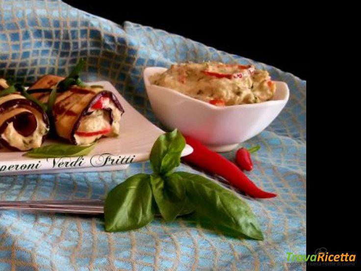 Involtini di melanzane grigliate con tonno e maionese  #ricette #food #recipes